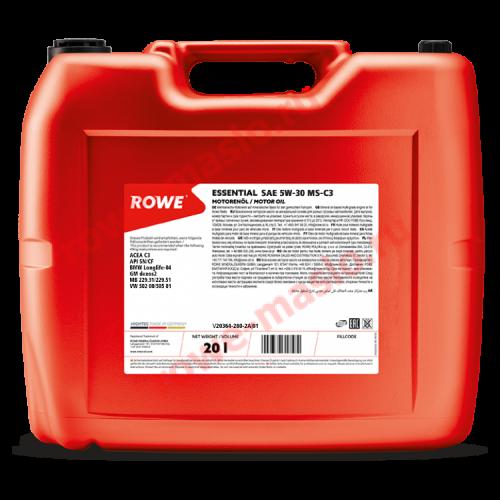 ROWE ESSENTIAL SAE 5W-30 MS-C3 20л