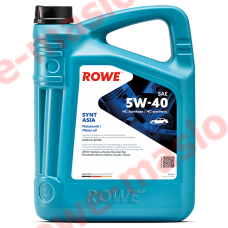 HIGHTEC SYNT ASIA SAE 5W-40 NEW 5л